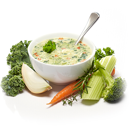 Country Chicken & Vegetable PROtherapies Low Carb Soups graphic