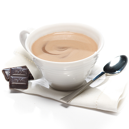 Hot/Cold Chocolate Drink Mix graphic